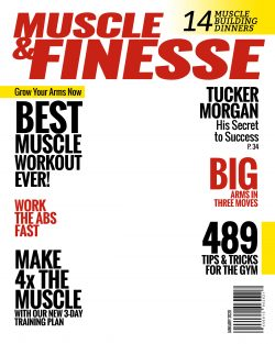 Magazine Cover – Muscle & Finesses