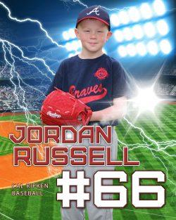 Player Portrait – Baseball