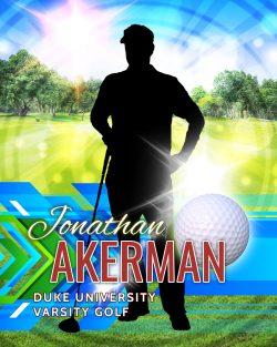 Player Portrait – Golf