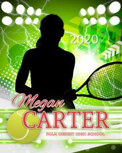 Player Portrait – Tennis