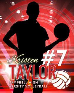 Player Portrait – Volleyball