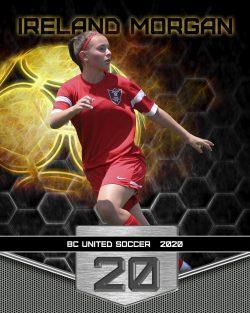 Player Portrait – Soccer (Fireball)