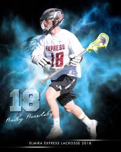 Player Portrait – Lacrosse (Burst)