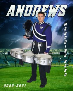 Player Portrait – Marching Band (Flag)
